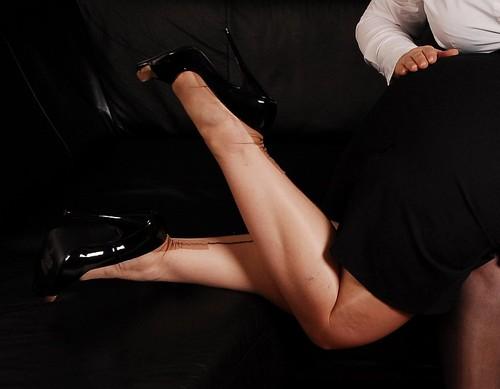 Nahtnylons und High Heels