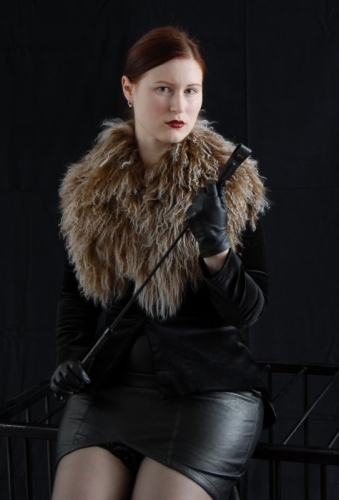 Leder und Pelz